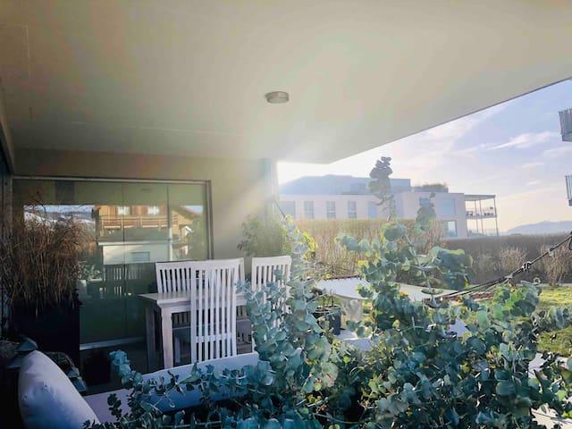 Aussenbereich/Gartenwohnung