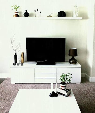 """Each room has got 34"""" LED TV with cable/wifi connection 24