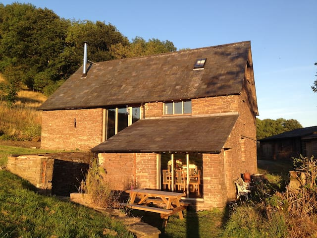 Ty'r Olchon House & Cottage : Brecon Beacons - Longtown - Hus