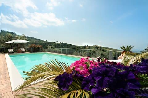 Granaio-Tuscan公寓和泳池, Vinci