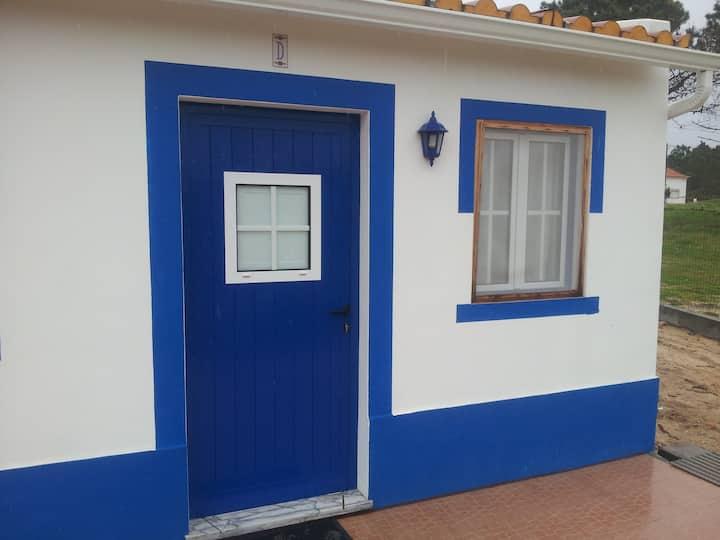 Apartamento t0 azul praia Melides M. António domin