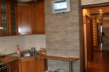 Roomy apartment in a quite place near Moscow City - Moskwa - Apartament
