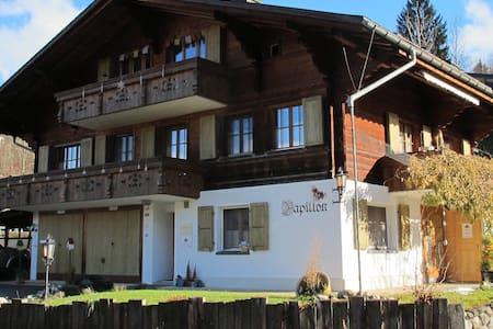 ruhiges 1.5 Zimmerstudio in Gstaad - Saanen