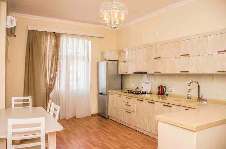 Новая квартира в центре города
