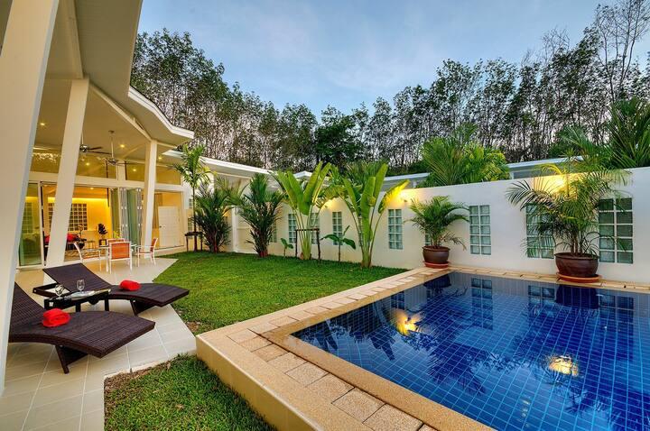 Banana villa est un lieu de calme et de sérénité