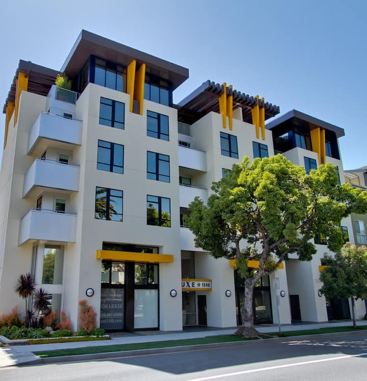 DT SANTA MONICA - Professionally Decorated One Bedroom - Amazing Natural - Light- 6th and Colorado.