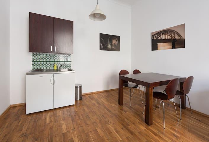 Apartment Krakow, living room,
