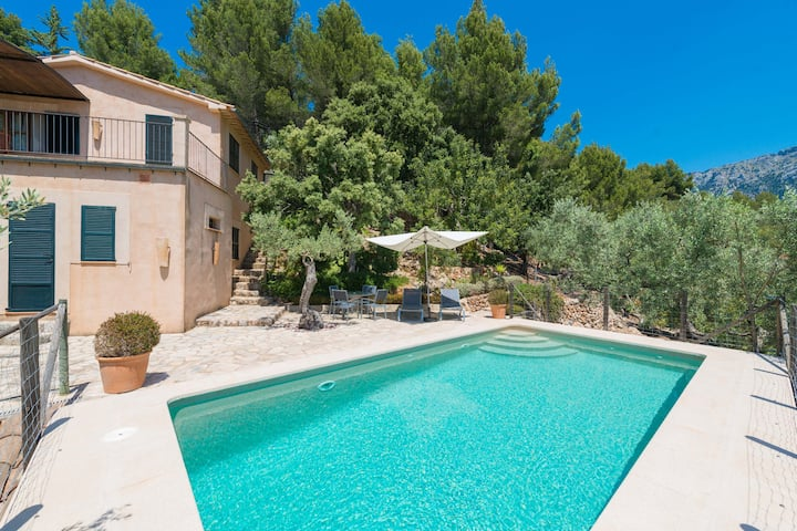 SON BOU - Villa with private pool in Soller. Free WiFi
