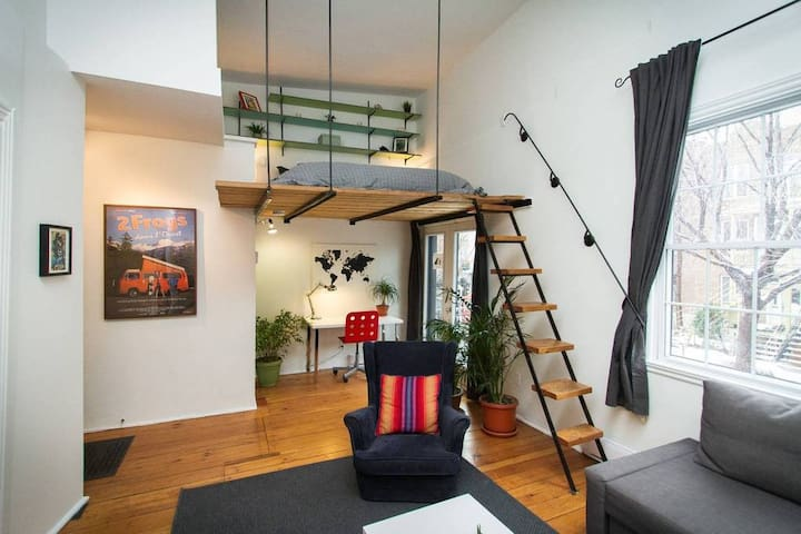 RENT MONTHLY! 🤩Montreal DREAMLOFT on the PLATEAU