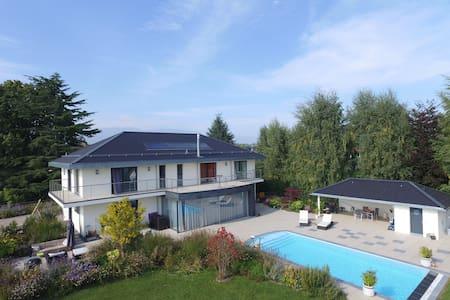 Appt. luxueux entre vigne et lac - Founex - Apartamento