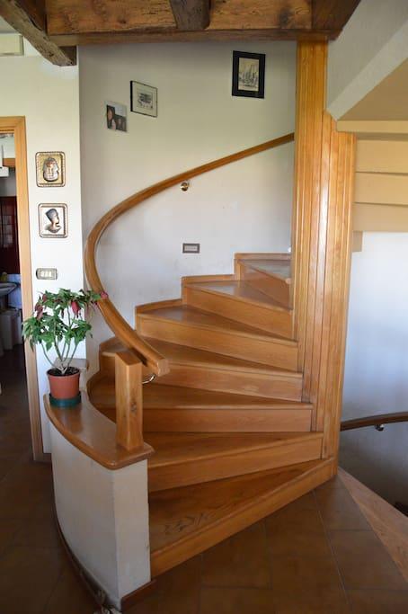 rampa di accesso all'appartamento