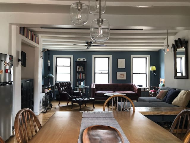 Spacious, sunny duplex in Fort Greene, Brooklyn