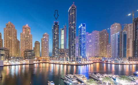 Exclusive Apt. with sea and marina views