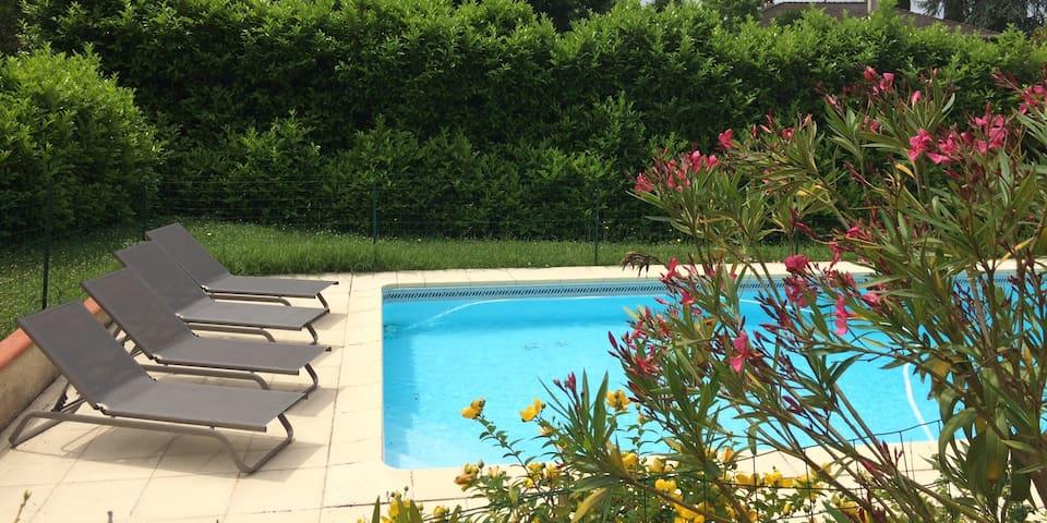 Maison avec piscine dans la campagne toulousaine - Mons - Dom