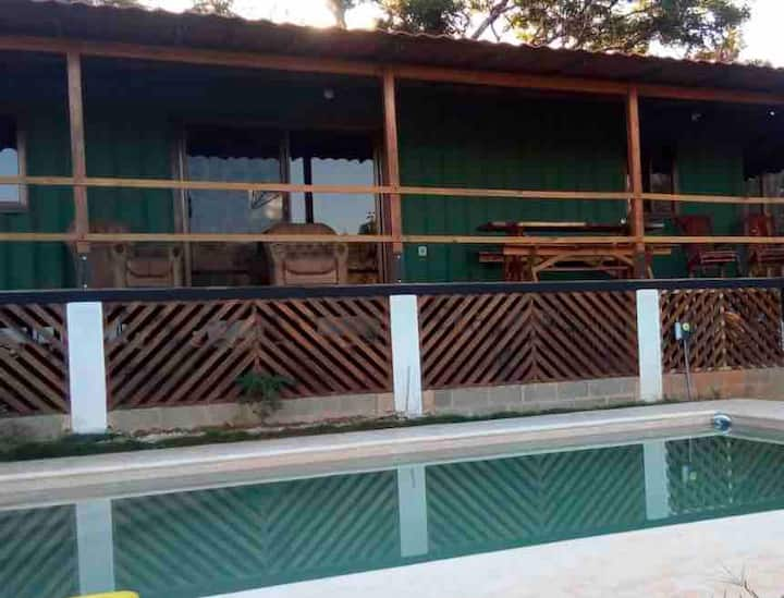 2 to 3 Bedroom container home w pool 1 km to beach