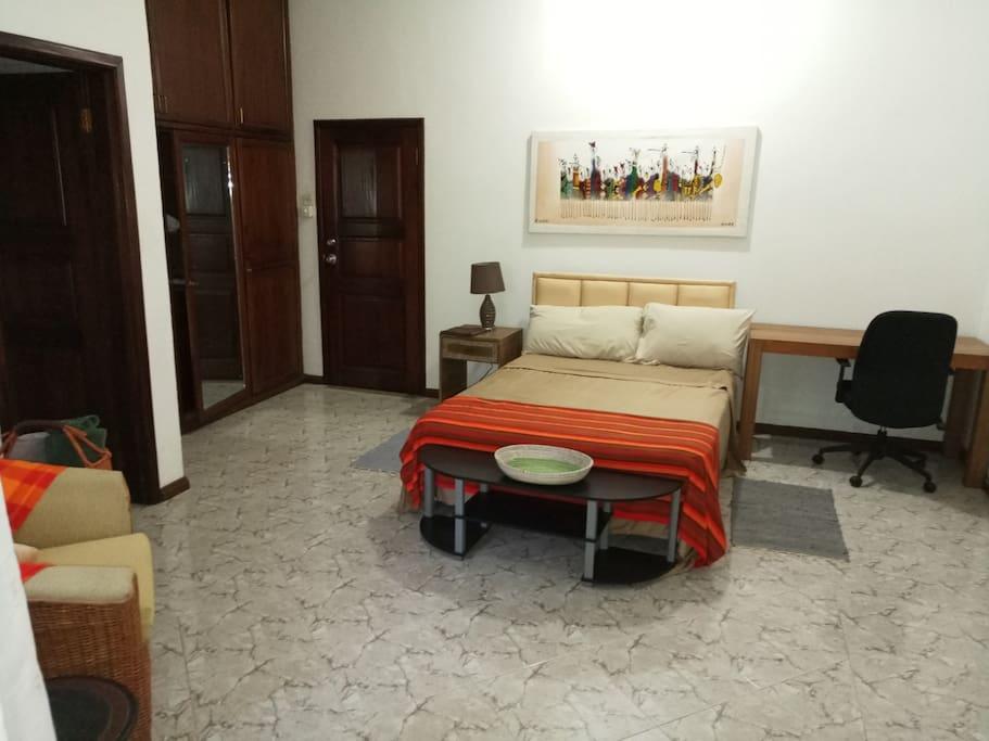 Your bedroom in Accra