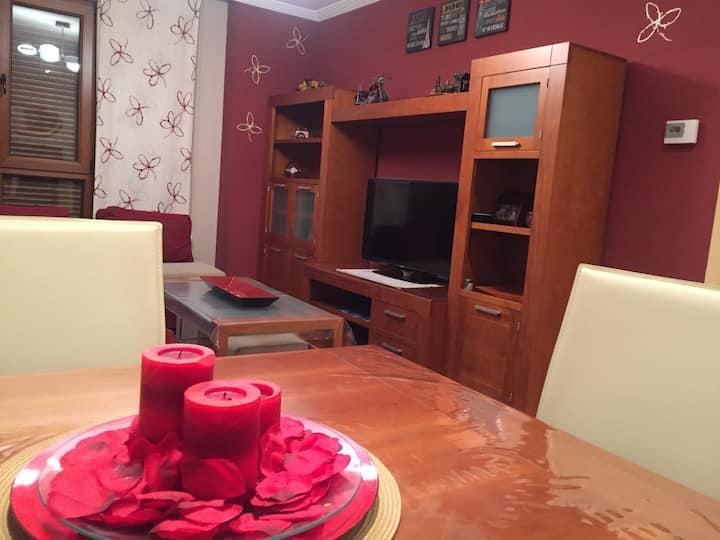 Acogedor apartamento familias/niños en Asturias
