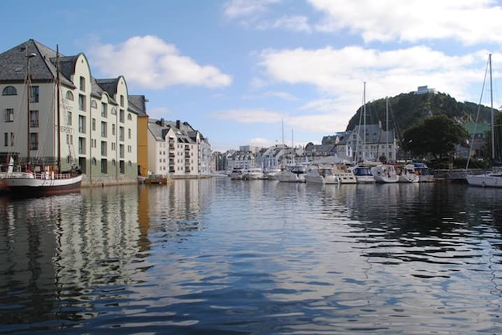 A private flat 4 km from lovely Ålesund centrum.