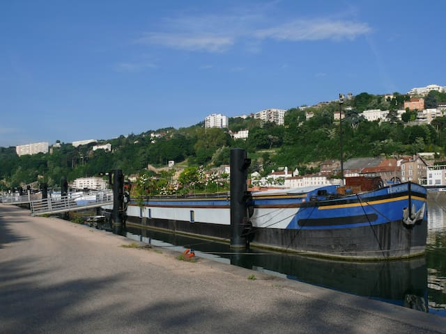 Bateau FRIPONNE : une adresse insolite à LYON - Lyon - Bateau