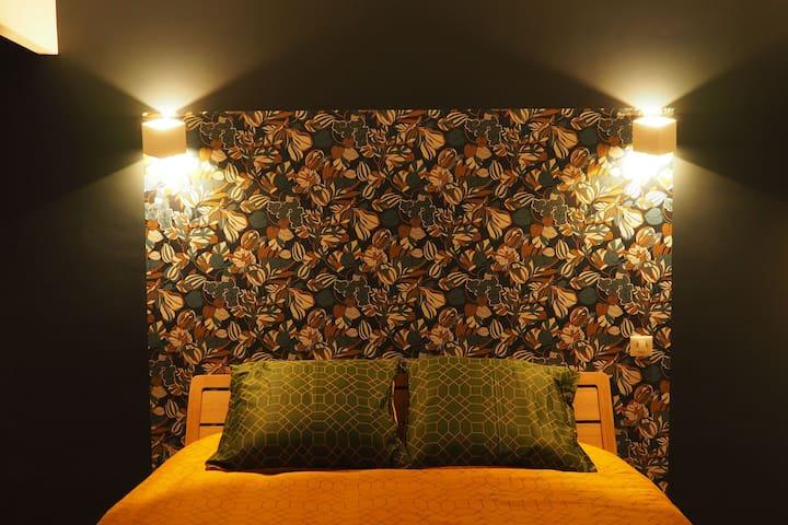Chambre numéro 3 avec lit queen size 160x200cm