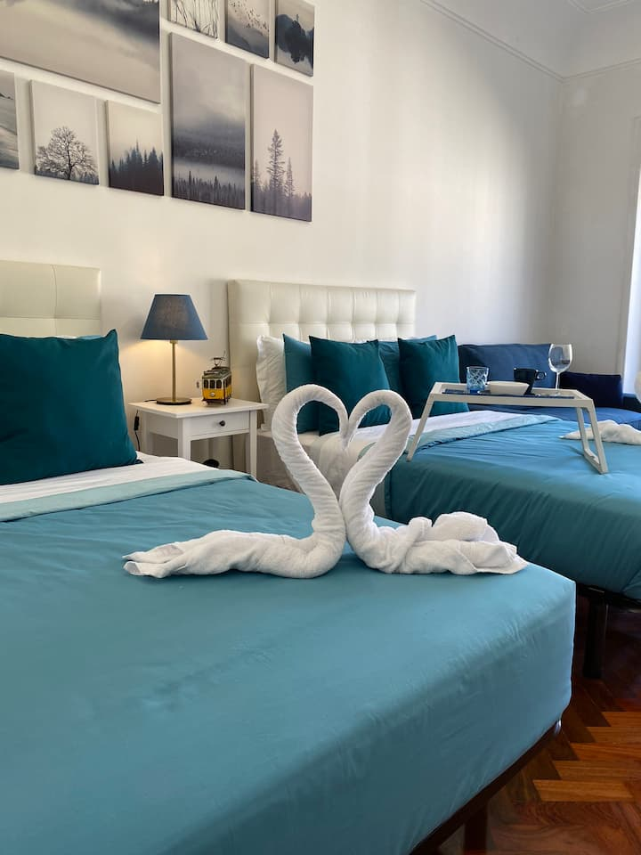 Charming Apartment Blue Bairro Guesthouse 1
