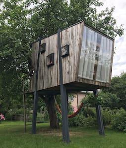 Comfort treehouse in the centre of Estonia