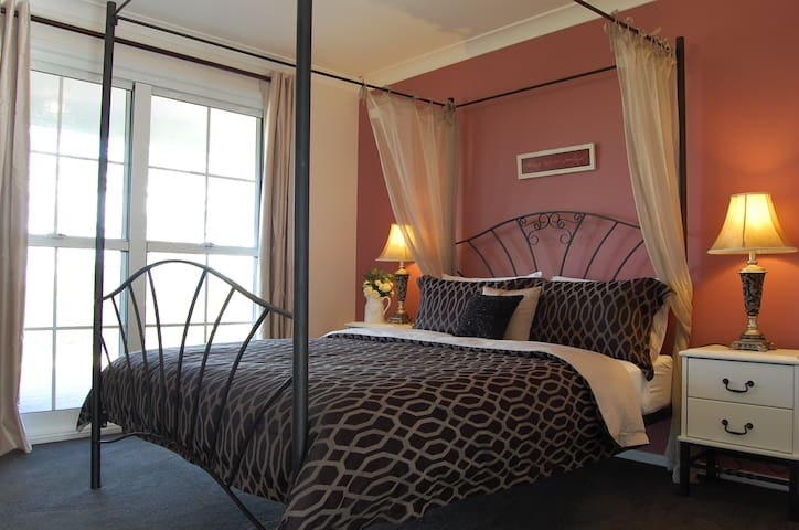 Romantic four poster beds