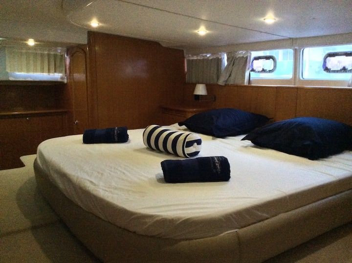 Catamaran moteur avec skipper