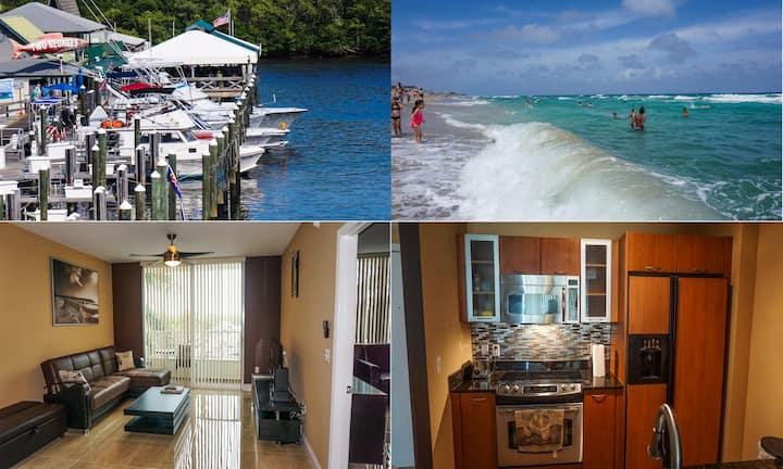 *SUMMER*$PECIAL!! 1/1Luxury Beach Apartment-Ocean