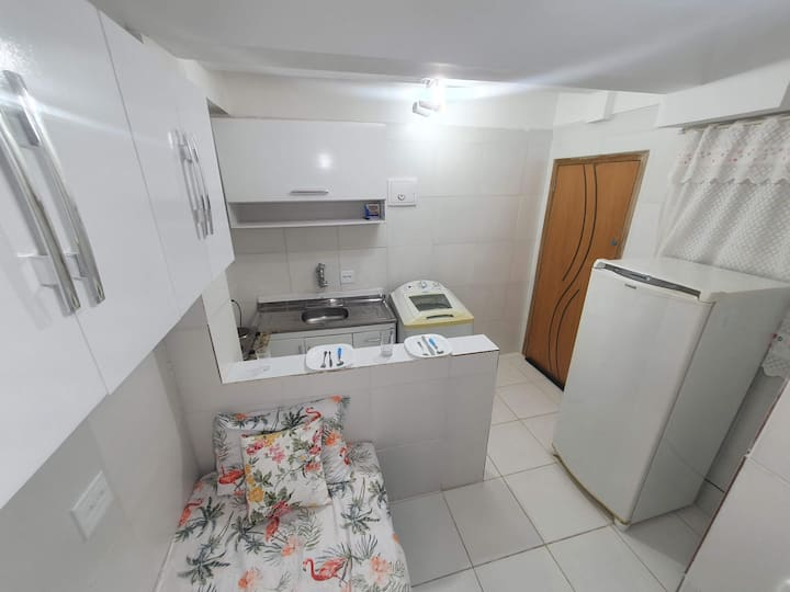 Cozy Studio 4min walk to metro station Jabaquara