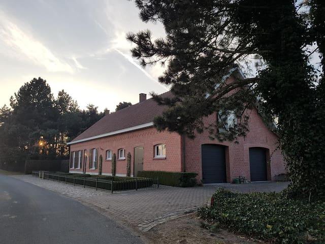 Landelijke gelegen B&B Bergenhof