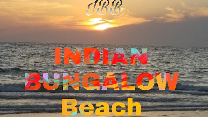 Indian bungalow beach
