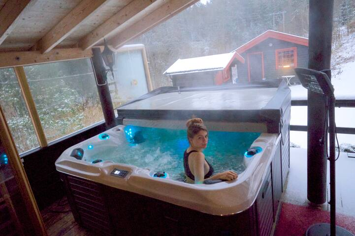 New Jacuzzi also suitable in the winter