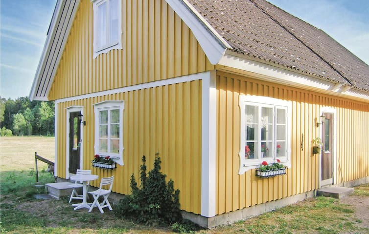 Holiday cottage with 1 bedroom on 52m² in Strömsnäsbruk