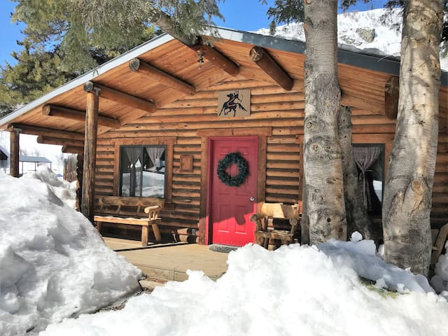 Evergreen Cabin-2 Bdrm Log Cabin Retreat-Clark Co