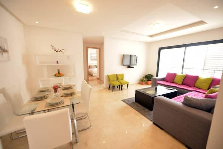 2BR Flat - Hay Riad - Rabat Business District