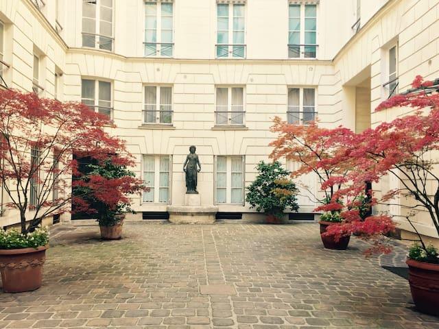 Petit cocon douillet en plein cœur de Paris