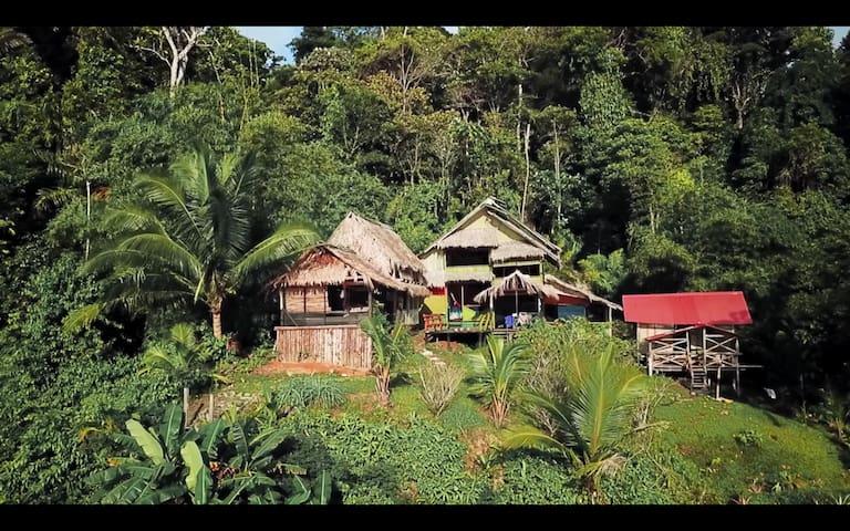 Cabaña en una reserva natural!