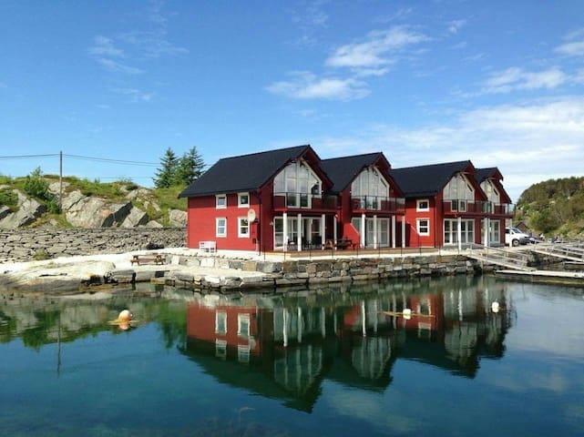 Rorbu/boathouse in Øygarden, 2 floor - Øygarden - Apartamento
