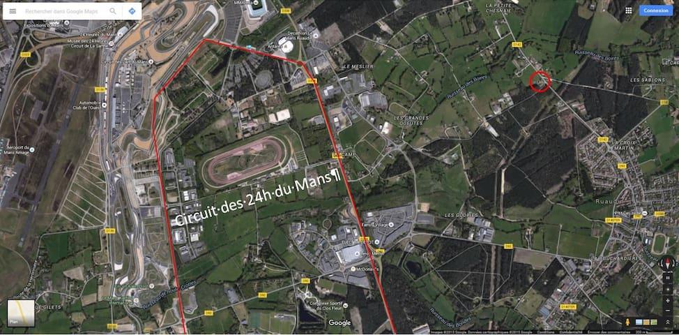 Au cœur du circuit des 24 Heures du Mans