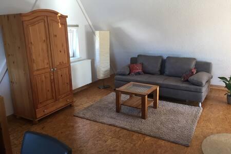 gemütliche, helle DG Wohnung in Bissingen