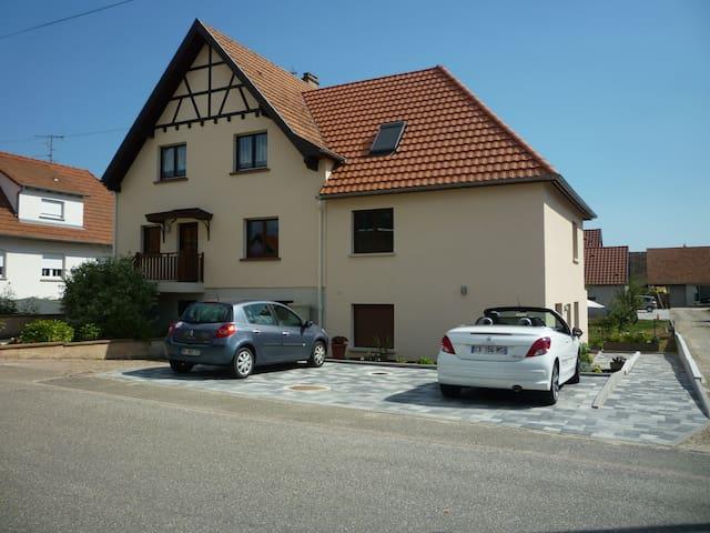 Gîte la clé des champs - Meistratzheim - Appartement