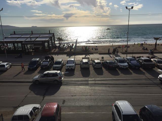 Departamento Reñaca vista al mar , Viña del Mar - Viña del Mar - Apartamento