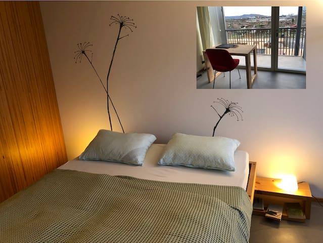 Schönes ruhiges Gästezimmer nahe Basel-Zentrum