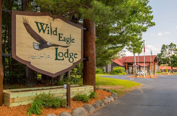The finest condo resort on the Eagle River Chain.
