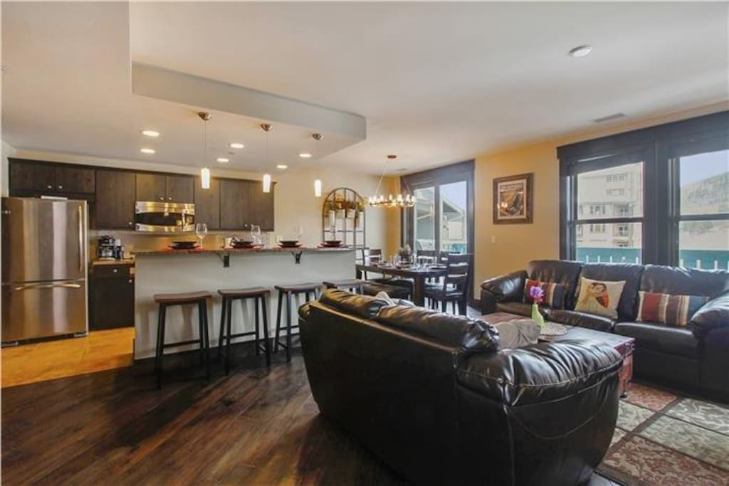 High-end furnishings and spacious design.