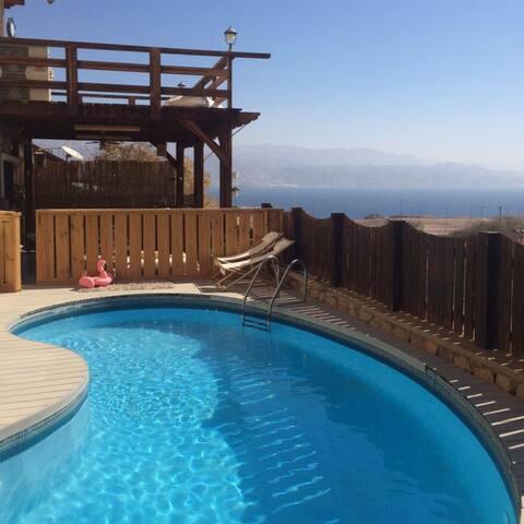 A beautiful two levels villa