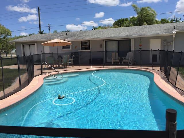 Homestead Pool (heated) House