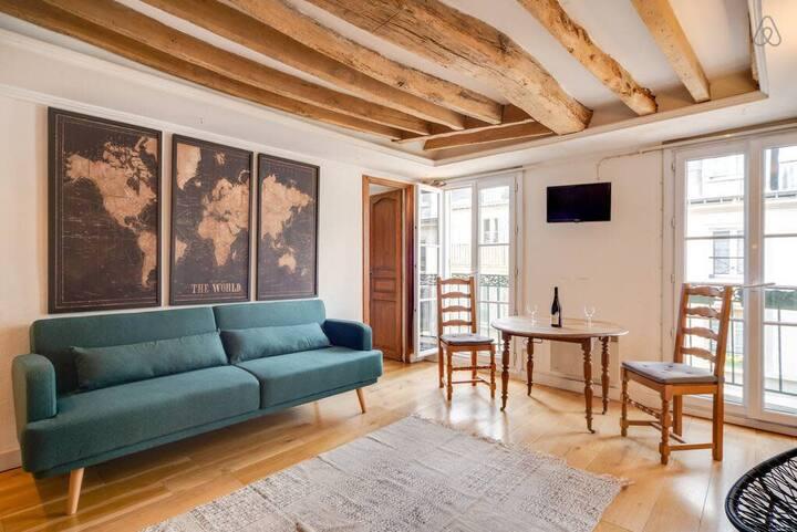 Charming 2 rooms near republique 11th