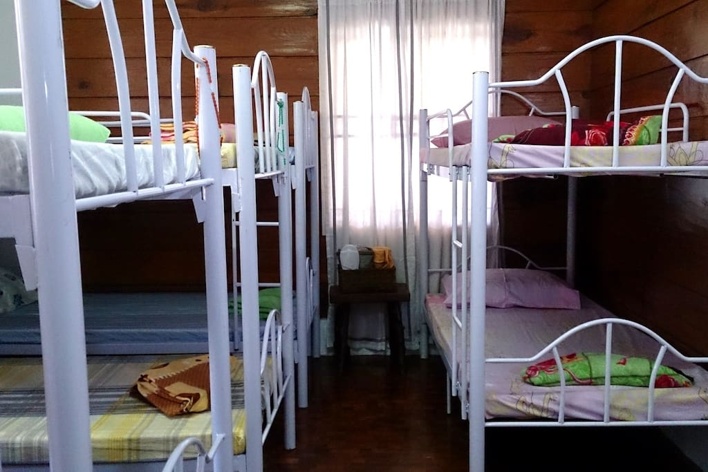Private Room with 5 bunk beds bed